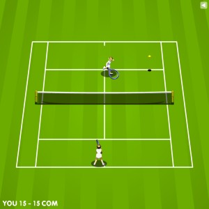 Capture d'écran du jeu Tennis Game