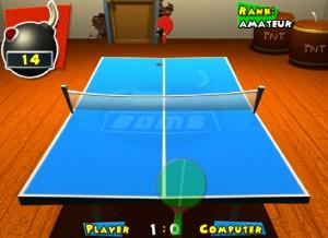 Capture d'écran du jeu Dabomb Pong