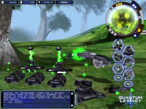Capture d'écran du jeu Quantum Legacy