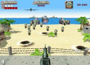 Capture d'écran du jeu Onslaught