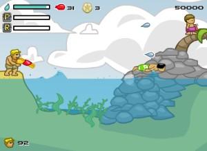 Capture d'écran du jeu Aqua Slug