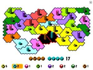 Capture d'écran du jeu Dicewars