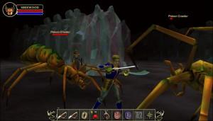 Capture d'écran du jeu Sherwood Dungeon