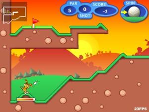 Capture d'écran du jeu Mani Golf