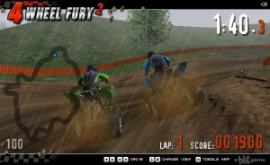 Capture d'écran du jeu 4 Wheel Fury 2