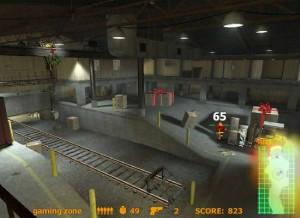 Capture d'écran du jeu Santastrike