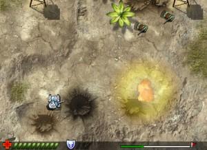 Capture d'écran du jeu Crusader Tank