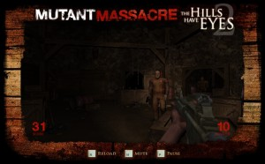Capture d'écran du jeu Mutant Massacre