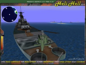 Capture d'écran du jeu Heli Hell 3d