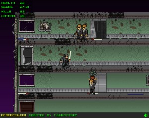 Capture d'écran du jeu Matrix Rampage