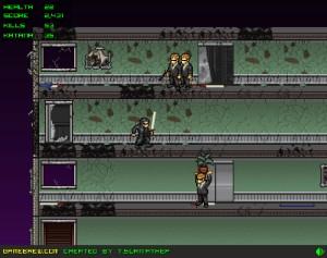 Capture d'écran du jeu Matrix Rampage