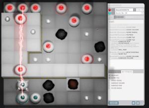 Capture d'écran du jeu Quadradius