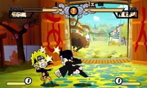 Capture d'écran du jeu Naruto Mini