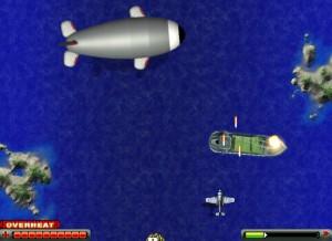 Capture d'écran du jeu Naval Fighter