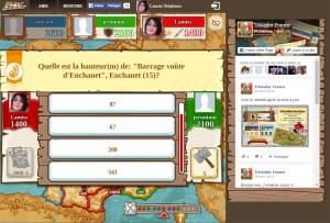 Capture d'écran du jeu Triviador