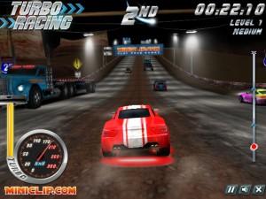 Capture d'écran du jeu Turbo Racing