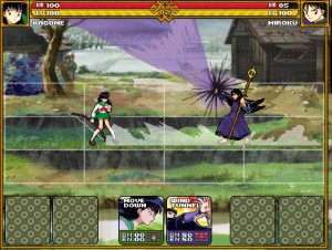 Capture d'écran du jeu Inuyasha Demon Tournament