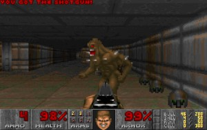Capture d'écran du jeu Doom Triple Pack