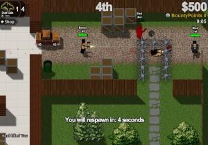 Capture d'écran du jeu Boxhead Bounty Hunter
