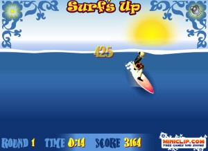 Capture d'écran du jeu Surf's Up