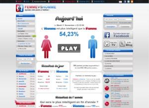 Capture d'écran du jeu Femme Vs Homme