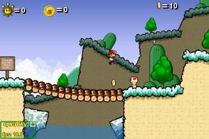 Capture d'écran du jeu Super Mario 63