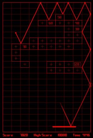 Capture d'écran du jeu Redesigning Breakout
