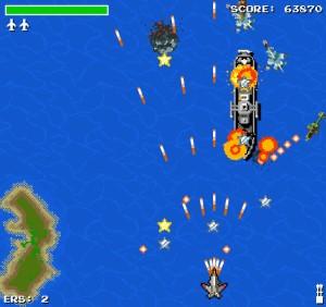 Capture d'écran du jeu Hawk 2 - 8 Bit