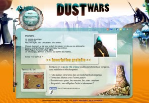 Capture d'écran du jeu Dustwars