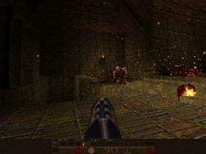 Capture d'écran du jeu Quake Flash