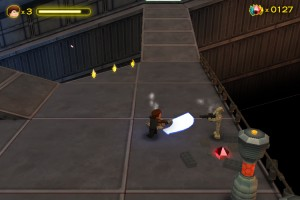 Capture d'écran du jeu Lego Star Wars : Quest For R2d2