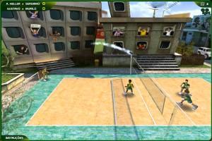 Capture d'écran du jeu Super Volei Brasil