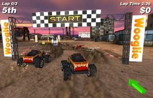 Capture d'écran du jeu 4x4 Offroad Racing