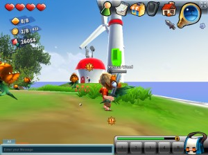 Capture d'écran du jeu Milmo