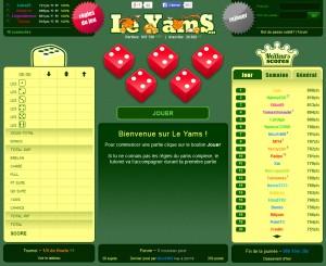 Capture d'écran du jeu Le Yams