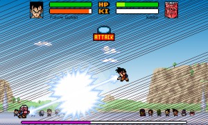 Capture d'écran du jeu Dragon Ball Z : Devolution