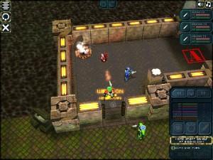 Capture d'écran du jeu Xenosquad