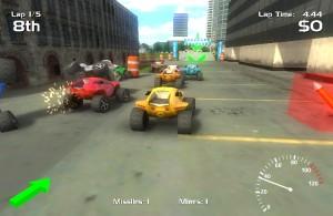 Capture d'écran du jeu Hard Rock Racing