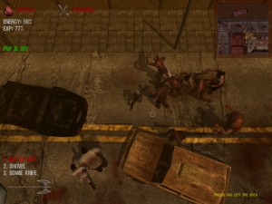 Capture d'écran du jeu Dead Frontier