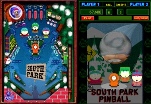 Capture d'écran du jeu South Park Pinball