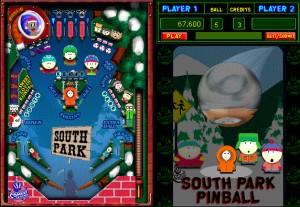 Capture d'écran du jeu South Park Pinball