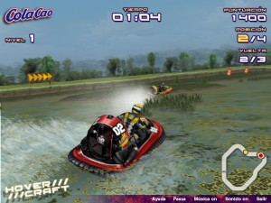 Capture d'écran du jeu Hover Craft