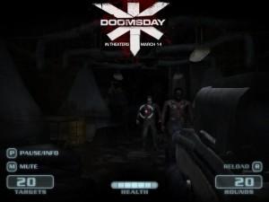 Capture d'écran du jeu Doomsday