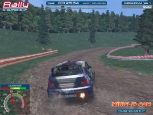 Capture d'écran du jeu Championship Rally