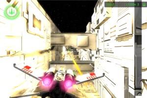 Capture d'écran du jeu Star Wars Trench Run