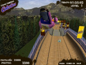 Capture d'écran du jeu Colacao  Skateboard