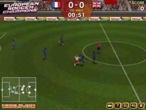 Capture d'écran du jeu European Soccer Champions