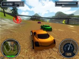 Capture d'écran du jeu Overtorque Stunt Racing