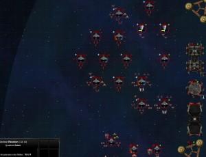 Capture d'écran du jeu Fallen Galaxy