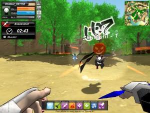 Capture d'écran du jeu Ninja Tooken